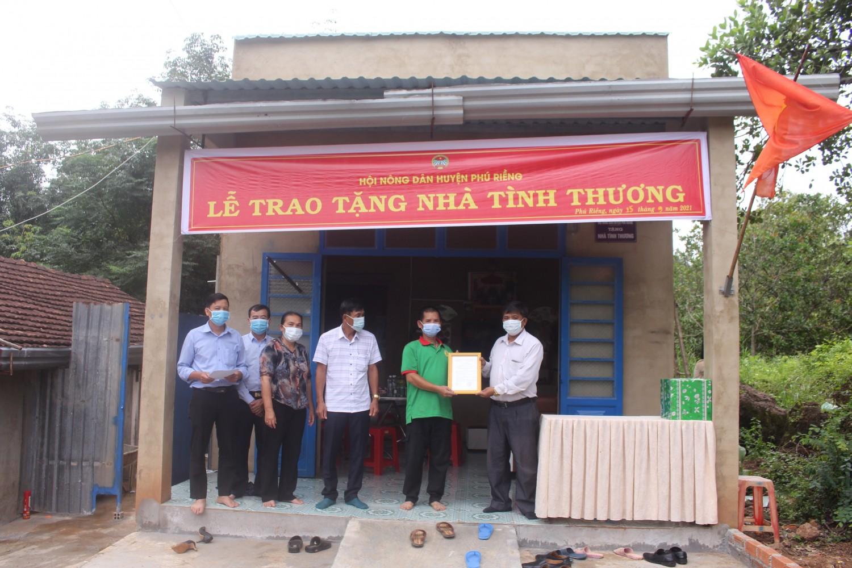 Hội Nông dân huyện Phú Riềng ngày càng khẳng định vị trí, vai trò trong hệ thống chính trị